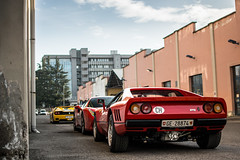 Dream line-up! (David Clemente Photography) Tags: ferrari ferrari288gto ferrarif50 ferrari488gtb 288gto f50 488gtb cars supercars carspotting nikonphotography automotivephotography v12 v8 biturbo