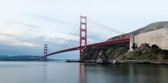 The Morning (K.R. Watson Photography) Tags: golden gate bridge san francisco california bay morning