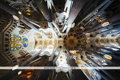 Sagrada Família, Barcelona (Naomi Rahim (thanks for 3 million visits)) Tags: barcelona spain españa europe europa 2016 travel travelphotography nikon nikond7200 wanderlust church architecture gaudi antonigaudi sagradafamília interior 1116mm
