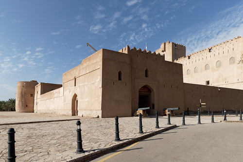 Jabreen Castle: Main Entrance