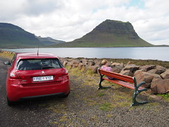 Having a rest around Snøfellsnes peninsula!