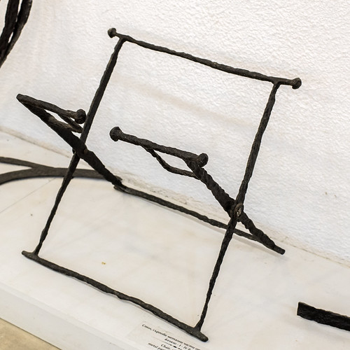 Roman-period iron folding chair from the area of Kazanlak, 1