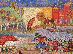 June celebration folk art (saudades1000) Tags: cores folkart folk nordeste alagoas colorido nordestino festasjuninas brazilianfolkart brazilianartist artnaive brazilianfolklore artistaalagoana taniapedrosa