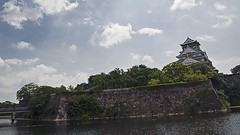 Osaka Castle (Johnnie Shene Photography(Thanks, 1Million+ Views)) Tags: old city trip travel people colour macro building castle tourism horizontal architecture canon lens photography eos rebel dc pond ancient focus scenery kiss place angle image outdoor no traditional famous central wide scenic sigma style tranquility landmark artificial scene structure destination modified osaka forehead popular 1770 tranquil adjustment built attraction freshness foreground   x6 fragility 284   650d t4i 1770mm f284