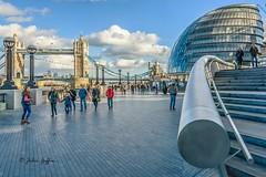 Tower bridge and London City Hall (johnboy!) Tags: london shard