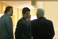Confraternização dos convidados antes do início das palestras