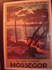 HOSSEGOR (marsupilami92) Tags: frankreich france sudouest aquitaine landes 40 gascogne vieuxboucau affiche hossegor chemindefer côtedargent