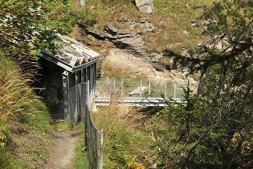 Abstieg durchs Leitertal am 18.09.2015