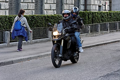 Video Filming on a Motorbike by Zurich City Police (Christian Natiez) Tags: schweiz switzerland cyclist surveillance zurich police motorbike motorcycle biker zrich filming polizei berwachung motorrad motorcyclist filmen kanzlei motorbiker motorradfahrer stadtpolizei citypolice ankerstrasse