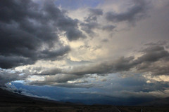 between rains (naaandrea) Tags: clouds bishop owensvalley highway395 easternsierra bigpine 395north