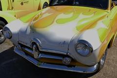 Henry J Gasser (bballchico) Tags: henryj kaiser flames dragcar arlington gasser 206 washingtonstate arlingtonwashington