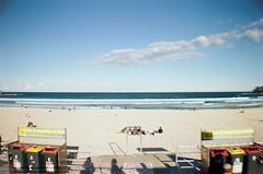 La Sardina (joywongyb) Tags: film beach bondi 35mm la lomography exposure sardina sydney australia double