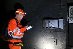 Gotthard Inside I (Kecko) Tags: railroad work underground geotagged schweiz switzerland tessin ticino suisse swiss kecko eisenbahn railway tunnel sbb svizzera bahn arbeit richi sangottardo lineman gotthard 1882 2015 linesman gotthardtunnel eisenbahntunnel swissphoto railtunnel bahntunnel scheiteltunnel streckenwärter streckeninspektor geo:lon=859883 geo:lat=4656405