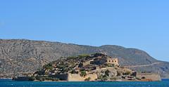 Spinalonga (PhillMono) Tags: travel blue heritage history abandoned island nikon europe village empty ruin tourist greece crete dslr fortress leprosy colony attraction spinalonga d7100