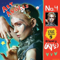 Grimes - Art Angels (Noahs Covers) Tags: art flesh visions design claire blood artwork album cd angels single lp indie packaging package without boucher grimes