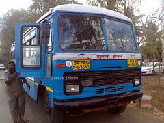 MSRTC sangli depot training vehicle bus at sangli (gouravshinde94) Tags: bus training vehicle depot sangli msrtc