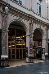 Cinma Galeries (Julin Meizoso Garca) Tags: brussels cinema building glass belgium belgique bruxelles bruselas brussel cinma blgica cristaleras galeriesroyalessainthubert nikond700 nikkor28mmf35pc cinmagaleries