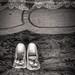 Antique shoes