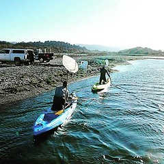 Check out more pictures of Eel River Recovery Project members David Sopjes and Erick Stockwell on our Facebook.   #Malibukayaks #kayaking #kayakfishing #outdoors #kayak #adventure #wildlife #picoftheday #eelriver