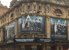 The Illusionists (wearearchers) Tags: magic signage archers westend theatreland shaftesburytheatre theillusionists