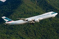 B-LJC (TommyYeung) Tags: airplane cx cargo boeing boeing747 jumbo cathaypacific cheklapkok cathaypacificairways hongkonginternationalairport vhhh hongkongtransport cathaypacificairwayscargo boeing747800 bljc boeing747867fscd