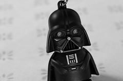 Darth Vader (Flávia Viriato) Tags: new brazil blackandwhite bw cute love nerd brasília brasil kids canon toy toys photography photo blackwhite starwars kid cool nice foto photographer geek sweet teen teenager lovely darthvader novo brasilia geeky nerdy chaveiro photoscape canont5 theforceawakens