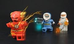 Revenge of the Rogues (MrKjito) Tags: lego minifig super hero comics comic dc flash rogue central city captain cold heatwave barry allen lenoard snart mick rory speedforce villains return revenge