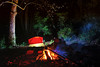 Noche de Paz (Serge Saint) Tags: bosque campamento cascadas ecoturismo querétaro rio sierragorda ecología campfire chuvejé mexicodesconocido hiking senderismo pinaldeamoles jalpandelasierra longexposure