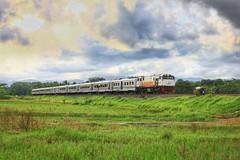 Taksaka Train (Semi HDR) (Ikhsan Prabowo Hadi) Tags: train keretaapi taksaka sedayu railways rail railfans railroad railway railfan railone