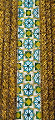 2016_04-Bangkok-M00105 (trailbeyond) Tags: architecture asia bangkok building gold location outdoors pattern religiousbuilding temple templeoftheemeraldbuddha texture thailand thegrandpalace wall watphrakaew white