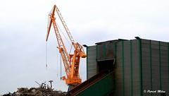 Crane (patrick_milan) Tags: crane structure metal port brest sky minimalism industrial industriel