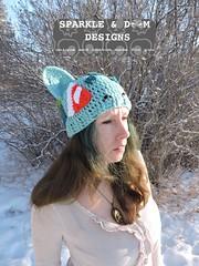 Bulbasaur 01d (zreekee) Tags: pokemon bilbasaur toque sparkledoomdesigns saskatchewan canada crochet handmade