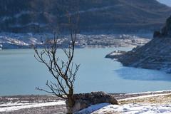 Lago di Molveno (Alessandro Casagrande Photographer) Tags: molveno lago montagne secco vuoto svuotato gennaio 2017 lavori neve freddo