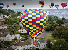 UP OVER THE DOWNS (DHHphotos) Tags: bristol balloon festival downs nikon d5300 england country avon west