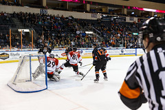 "Missouri Mavericks vs. Cincinnati Cyclones, January 25, 2017, Silverstein Eye Centers Arena, Independence, Missouri.  Photo: John Howe / Howe Creative Photography • <a style=""font-size:0.8em;"" href=""http://www.flickr.com/photos/134016632@N02/31746420603/"" target=""_blank"">View on Flickr</a>"