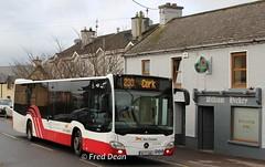 Bus Eireann MC307 (161C3084). (Fred Dean Jnr) Tags: buseireann mc307 161c3084 buseireannroute233 aherla cork december2016 mercedesbenz citaro