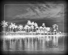 Pier 22 - Re-Imagined (Visions by Vincent) Tags: blackwhite inverted nightshot nighttime ngc greatphotographers waterscape reflections reflectyourworld