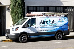 Aire Rite (So Cal Metro) Tags: la losangeles ford transit van airerite hvac airconditioning heating