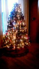 My daughter 's Second Christmas tree. (Maenette1) Tags: christmas tree second daughtershouse lights menominee uppermichigan flicker365