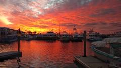 Freeport, Bahamas (mZ1983) Tags: bahamas caribe freeport sunset ocean nature boats landscape