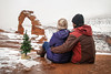 Christmas arch (No Stone Unturned Photography) Tags: christmas moab utah delicate arch arches national park hiking couple marriage love tree winter snow