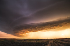 Supercell on the edge of the Badlands (Kelly DeLay) Tags: weather weatherphotography sky epic stormchasing storm stormscape greatplains supercell
