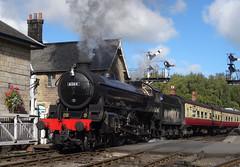 Ex-LNER class B1 4-6-0 no. 61264 @ Grosmont, North Yorkshire Moors Railway (Ermintrude73) Tags: northyorkshiremoorsrailway nymr nymrautumnsteamgala2016 61264 grosmont lnerthompsonclassb1 lner londonandnortheasternrailway 1264 460 thethompsonb1locomotivetrust