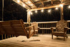 Looking for Summer (WVJilly) Tags: winter snow porch deck swing adirondack chairs wooden lights party night outside cold notsummer 365the2017edition 3652017 day5365 5jan17