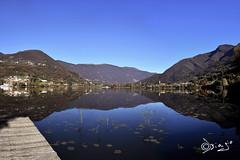 Lago di Endine - Italy! (Biagio ( Ricordi )) Tags: endine lago lake bergamo italy blu blue cielo