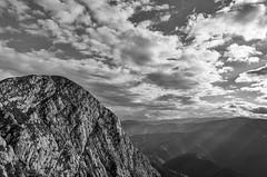 The Ridge (Hattifnattar) Tags: mountains romania piatracraiului ridge laom pentax da15mm limited blackandwhite monochrome bw nationalpark