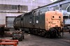 Pinza's Last Stand (D1059) Tags: 55007 pinza deltic napier scrapped doncasterworks