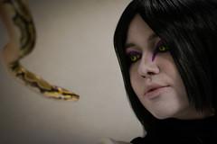 _DSC9670 (In Costume Media) Tags: orochimaru cosplay costume newcon newcon5 pdx naruto shippuden jiraiya kakashi sensei ninija cosplays cosplayers evil snake fight dark green eyes