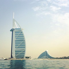 The Burj Al Arab (CarysBlackburn) Tags: asia dubai uae burj al arab sky