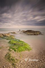 Tre Playas 05 (Santiago Vidal - Saliken) Tags: alcossebre tresplayas largaexposicion longexposure musgos filtros filtrosnd lucroit piedras stones mar sea seascape saliken